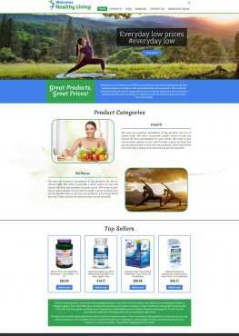 Welcome Healthy Living – Online Store